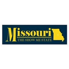 Missouri Gold Bumper Sticker