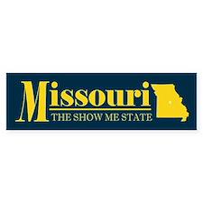 Missouri Gold Bumper Sticker