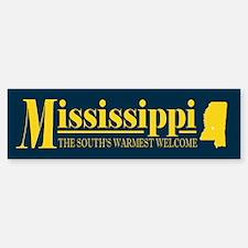 Mississippi Gold Bumper Bumper Sticker