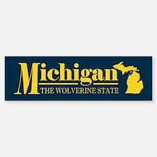 Michigan Gold Bumper Bumper Sticker