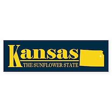 Kansas Gold Bumper Sticker