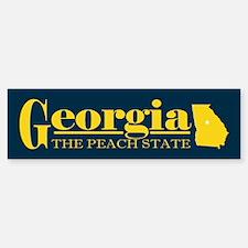 Georgia Gold Bumper Bumper Sticker