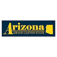 Arizona Gold Bumper Sticker
