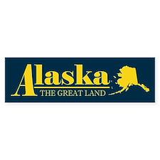 Alaska Gold Bumper Stickers
