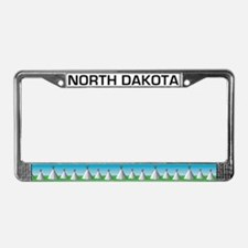 ND License Plate Frame