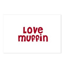 Love Muffin Postcards (Package of 8)