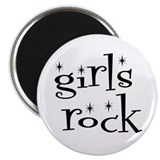 Girls rock Magnets