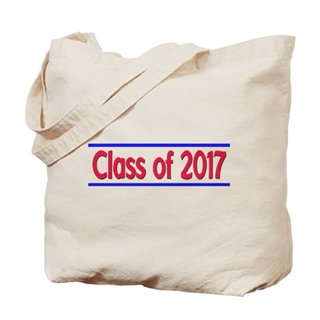 Class of 2016 Red Blue Tote Bag