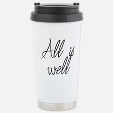 All is well Stainless Steel Travel Mug
