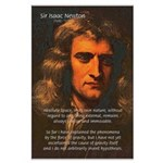 Sir Isaac Newton Space Large Poster