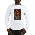 Sir Isaac Newton Space Long Sleeve T-Shirt