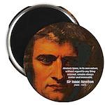Sir Isaac Newton Space Magnet