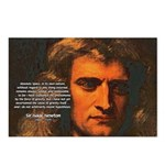 Sir Isaac Newton Space Postcards (Package of 8)