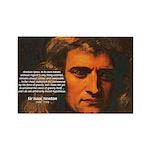 Sir Isaac Newton Space Rectangle Magnet
