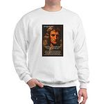 Sir Isaac Newton Space Sweatshirt