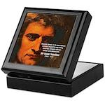 Sir Isaac Newton Space Keepsake Box