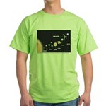 Car Keys Lost In Space Green T-Shirt