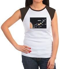 Car Keys Lost In Space Women's Cap Sleeve T-Shirt