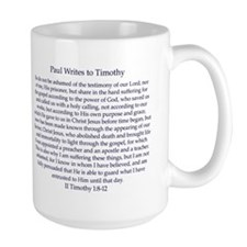 Letter to Timothy Mug (large)