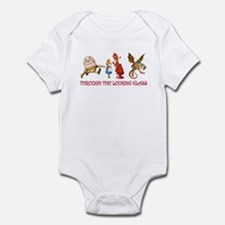 THROUGH THE LOOKING GLASS Infant Bodysuit