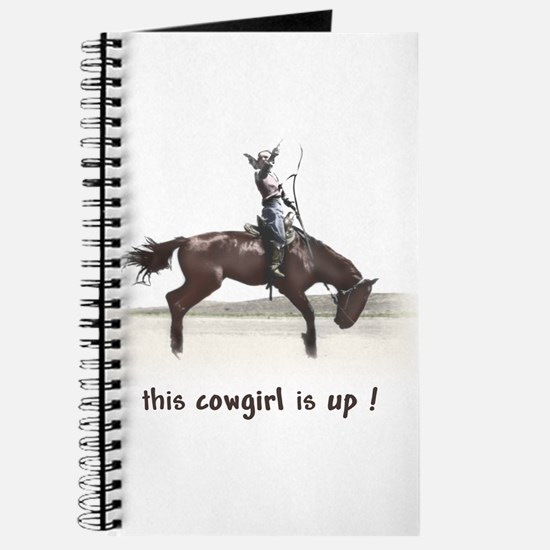 wild west cowgirl up Journal