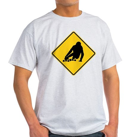 DH sing longboarding Light T-Shirt