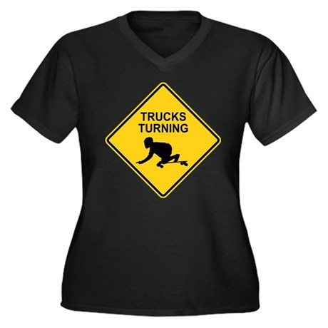 Trucks Turning sing longboard Women's Plus Size V-