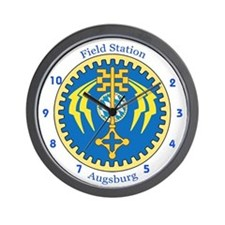 Field Station Augsburg Reunion Wall Clock