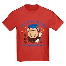 Boy Monkey Graduate T