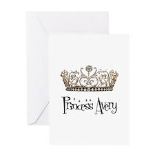 Princess Avery Greeting Card