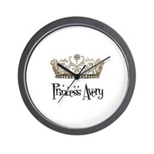 Princess Avery Wall Clock