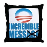 Incredible Mess Throw Pillow