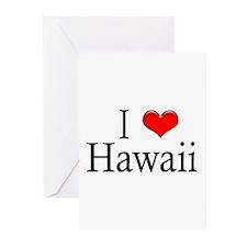 I Heart Hawaii Greeting Cards (Pk of 10)