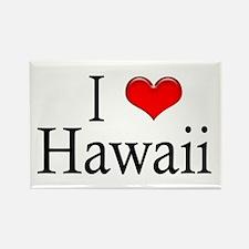 I Heart Hawaii Rectangle Magnet (10 pack)