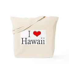 I Heart Hawaii Tote Bag