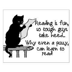 Pussy Can Read Posters