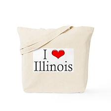 I Heart Illinois Tote Bag