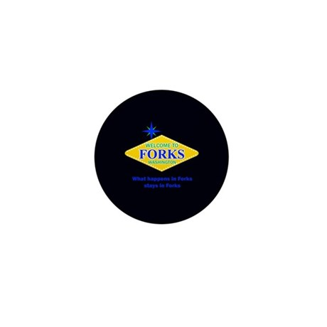 Welcome to Forks Mini Button (10 pack)