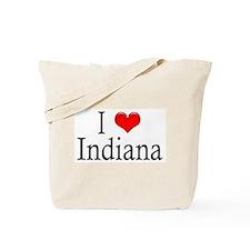 I Heart Indiana Tote Bag