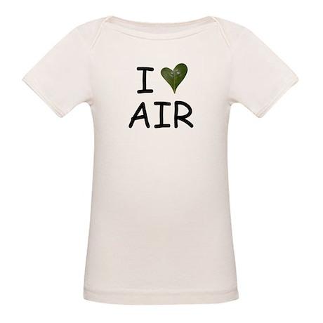 I Love Air   Organic Baby T-Shirt