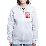 Rosie the Riveter Breast Canc Women's Zip Hoodie