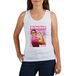 Rosie the Riveter Breast Canc Women's Tank Top