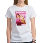 Rosie the Riveter Breast Canc Women's T-Shirt