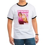 Rosie the Riveter Breast Canc Ringer T