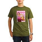 Rosie the Riveter Breast Canc Organic Men's T-Shir