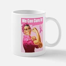Rosie the Riveter Breast Canc Mug