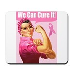 Rosie the Riveter Breast Canc Mousepad
