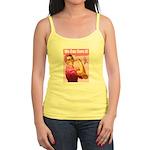 Rosie the Riveter Breast Canc Jr. Spaghetti Tank