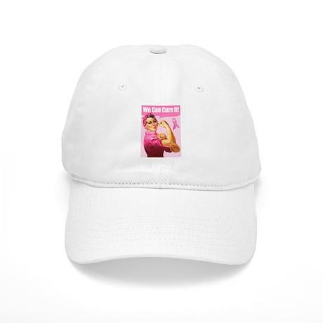 Rosie the Riveter Breast Canc Cap