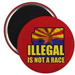 "Illegal 2.25"" Magnet (100 pack)"